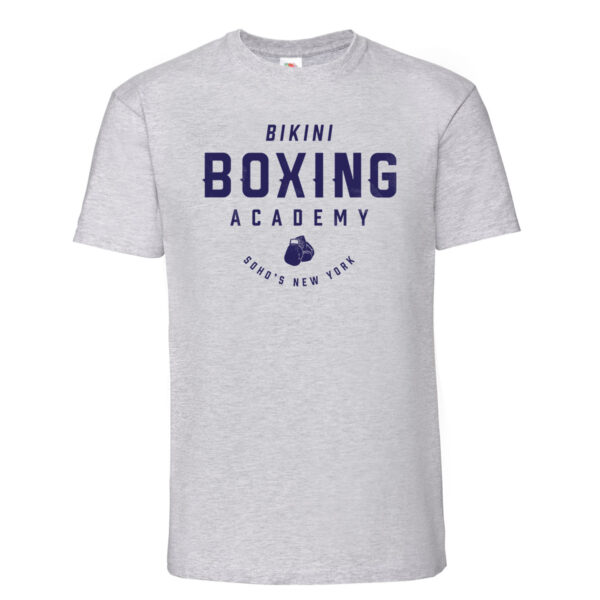 Bikini boxing Mens T shirt navy on heather