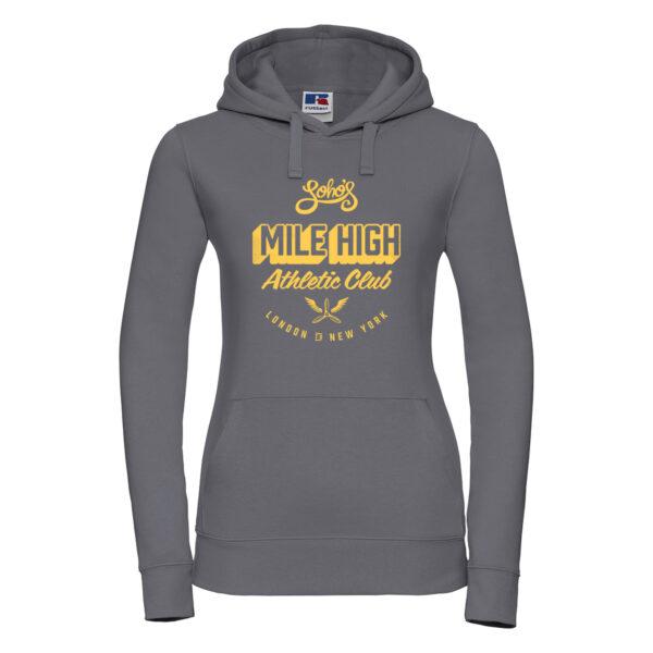 Mile high Womens hoodie convoy grey