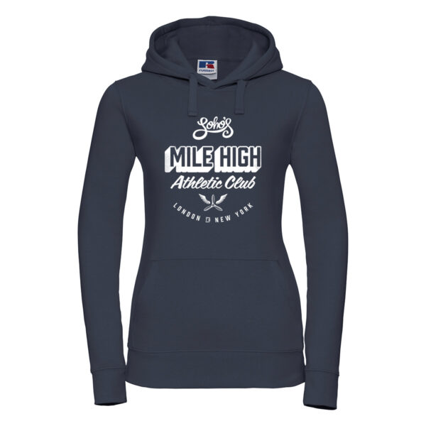 Mile high Womens hoodie french navy