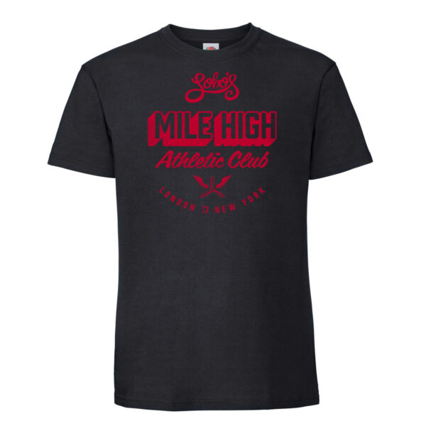 Mile high mens t shirt black