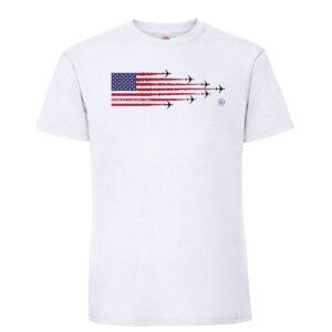 Pan Am Kamikaze mens t shirt white 1