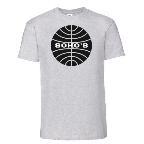 Soho's London ® - Pan Am mens t shirt heather