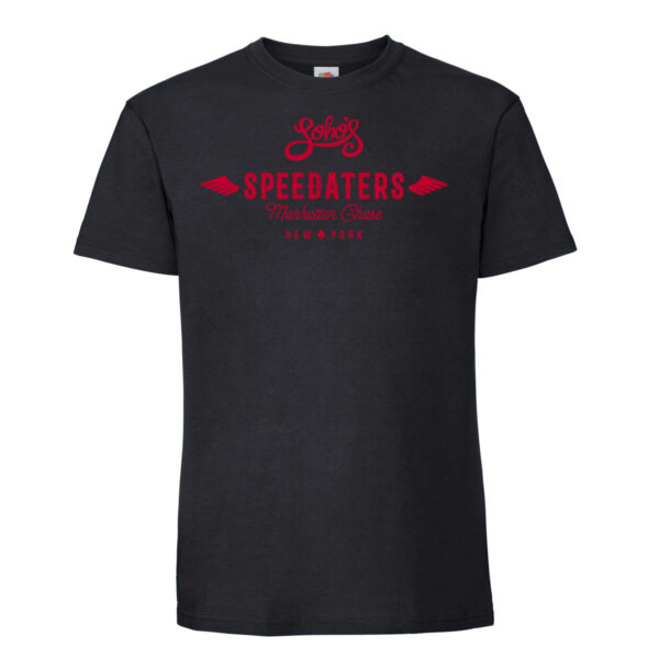 Speedaters mens t shirt black