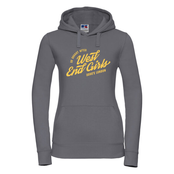 West End Girls Womens hoodie convoy grey
