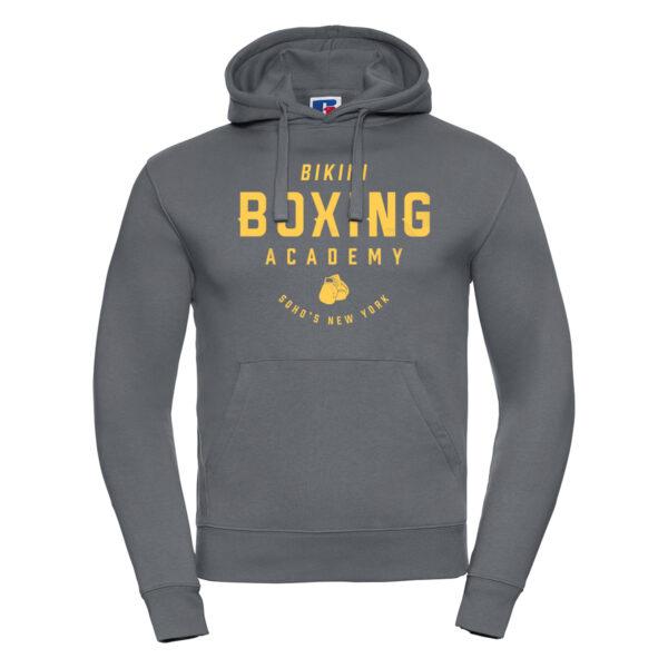 Bikini Boxing Hoodie for Men convoy grey