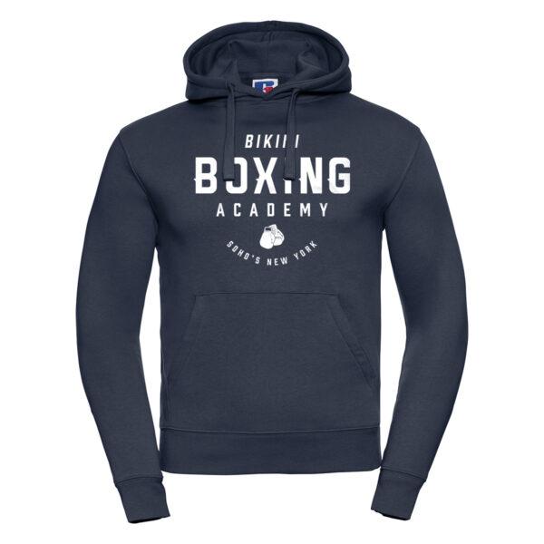 bikini boxing M hoodie french navy