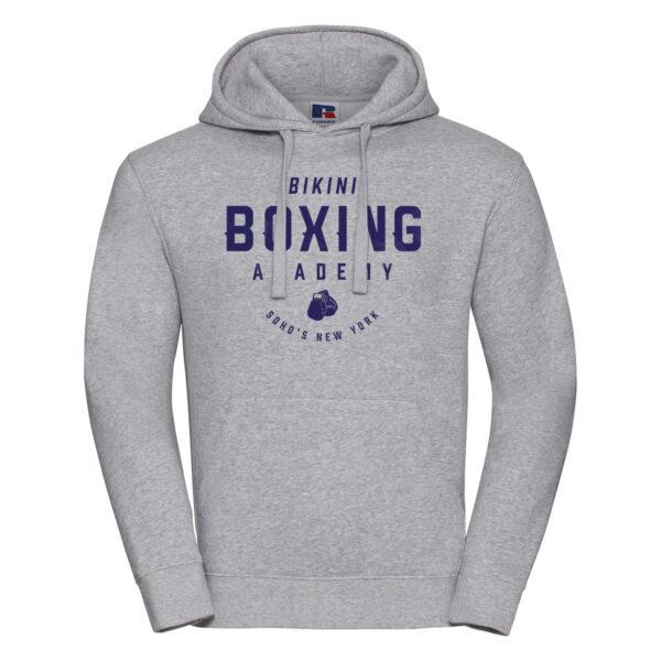 bikini boxing M hoodie oxford grey