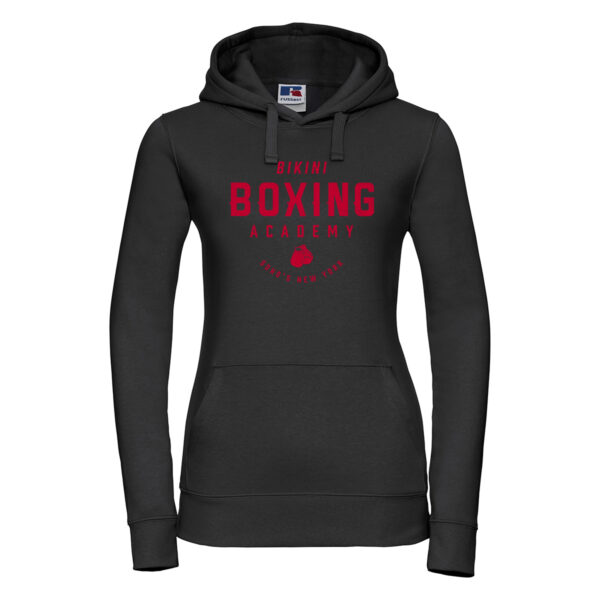 bikini boxing Womens hoodie black