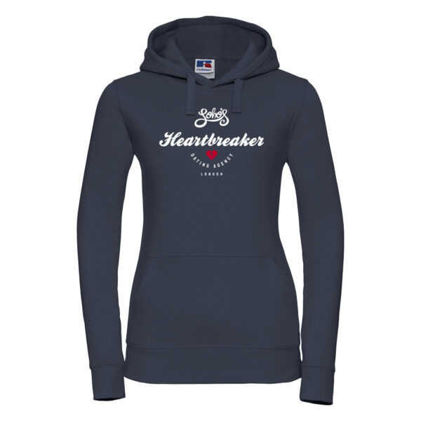 heartbreaker Womens hoodie french navy