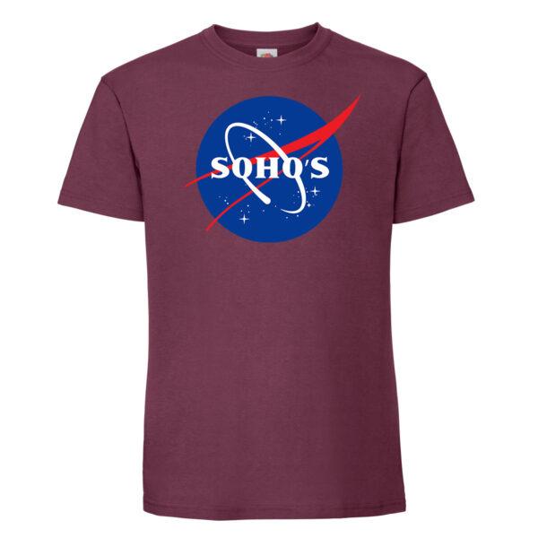nasa1 mens t shirt burgundy