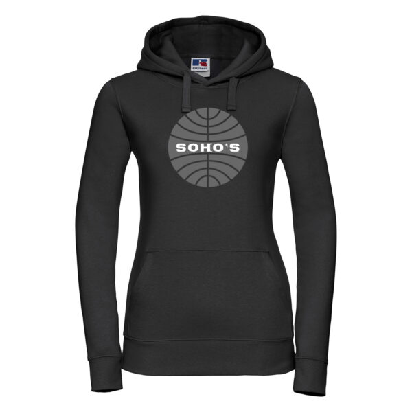 Retro Airline Hoodie for Women
