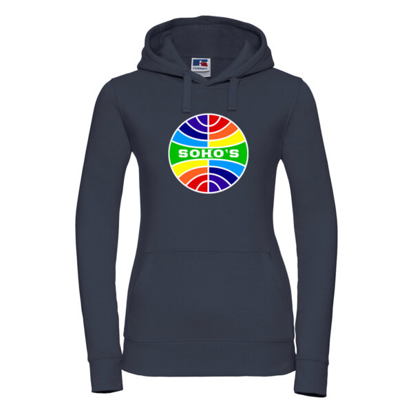 Retro Rainbow Hoodie for Women