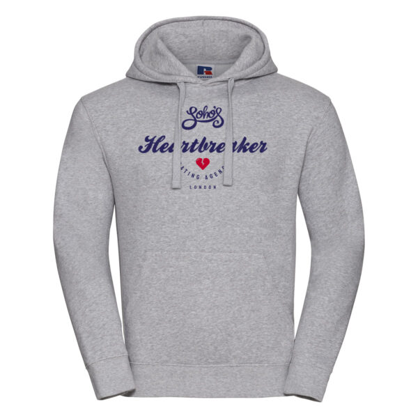 Heartbreaker M hoodie oxford grey