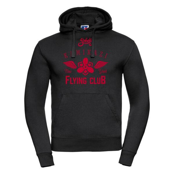 kamikazi graphic M hoodie black
