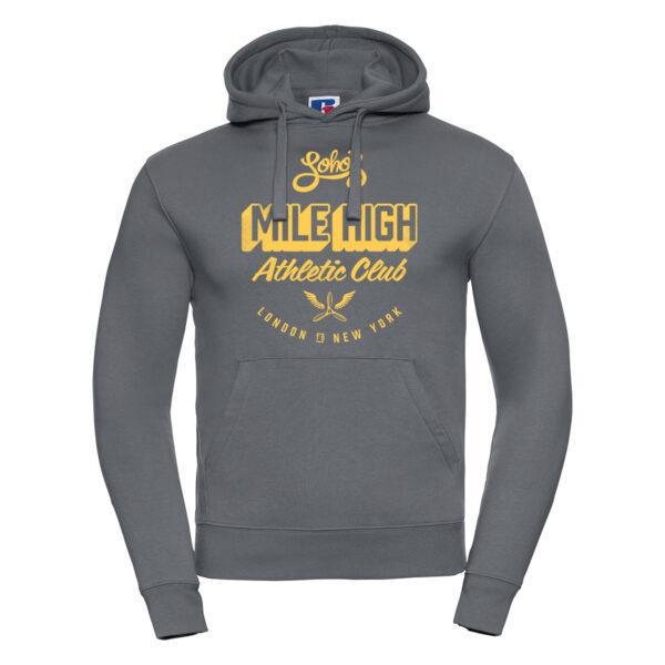Mile High Club Hoodie for Men Convoy grey